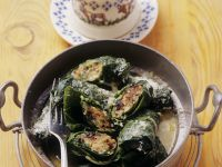 Braised Vegetable Parcels recipe