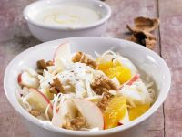 Cabbage Salad with Fruit and Walnuts recipe