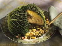 Cabbage with Bread Stuffing recipe