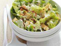 Caesar Salad with Croutons recipe