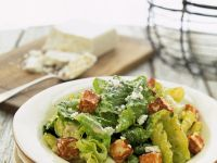 Caesar Salad with Tofu recipe