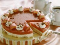 Cake with Rhubarb Cream recipe