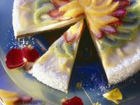 Cake with Tropical Fruits recipe