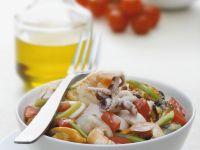 Calamari and Mussel Bowl recipe