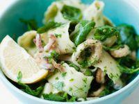Calamari and Ribbon Pasta Bowl recipe