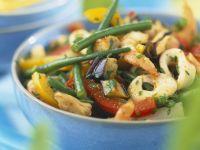 Calamari with Mixed Veggies recipe