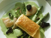 Calf's Head with Asparagus recipe