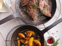 Calf's Liver with Calvados recipe