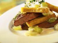Calf's Liver with Polenta recipe
