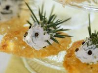Canapes with Cheese Hedgehogs recipe
