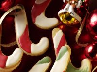 Candy Cane Cookies recipe