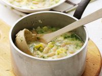 Cannellini and Zucchini Broth recipe