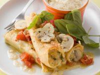 Cannelloni Stuffed with Mushrooms recipe