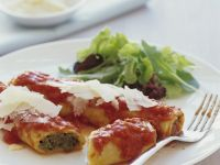 Cannelloni with Ground Beef recipe