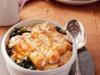 Cannelloni with Ricotta and Salmon recipe
