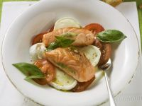 Caprese-style Salad with Fish recipe