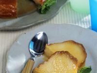 Caramelized Almond-Milk Pudding recipe