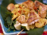 Caribbean Rice and Seafood recipe