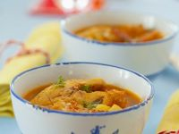 Carp Soup with Peppers recipe
