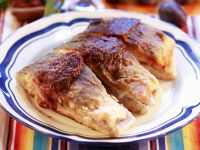 Carp with Plum Puree recipe