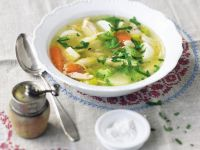 Carrot and Chicken Broth recipe