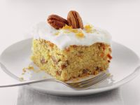 Carrot and Pecan Cakes recipe