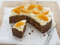Carrot and Pecan Gateau with Frosting recipe