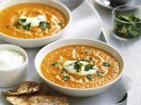 Carrot and Sweet Potato Soup recipe