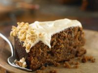 Carrot Hazelnut Cake with Cream Cheese Frosting recipe