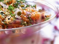 Carrot Salad with Daisies recipe