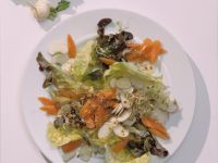 Carrot Salad with Sprouts recipe