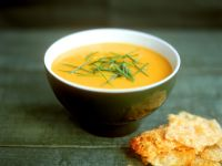 Carrot Veloute with Herbs recipe