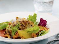 Cashew Chicken and Mixed Citrus Salad recipe