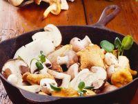 Cast-Iron Mushrooms recipe