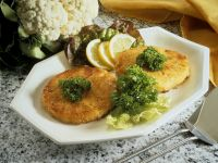 Cauliflower and Potato Croquettes recipe