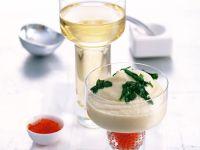 Cauliflower Puree with Salmon Caviar recipe