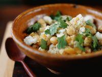 Cauliflower Salad with Chickpeas recipe