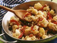 Cauliflower with Chile Pepper recipe