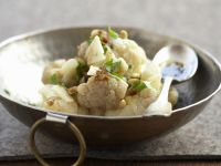 Cauliflower with Pine Nuts and Parmesan recipe