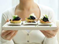 Caviar Blinis recipe