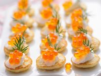 Caviar Blinis recipe