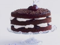 Celebration Cherry and Chocolate Cake recipe