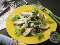 Celery and Apple Salad with Chicken recipe