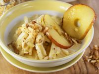 Celery Root with Mustard, Apples and Walnuts recipe