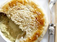 Celiac Friendly Cauliflower Soup with Pastry Lid recipe