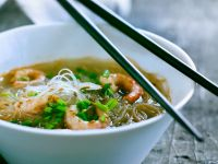 Cellophane Noodle Soup with Shrimp recipe