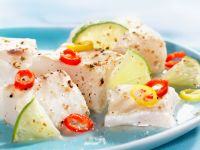 Ceviche with Hot Peppers and Limes recipe