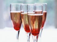 Champagne with Creme De Cassis recipe