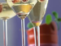 Champagne with Raspberries recipe