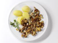 Chanterelles recipe